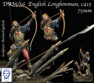 DAM/56 English Longbowman, Azincourt, 1415
