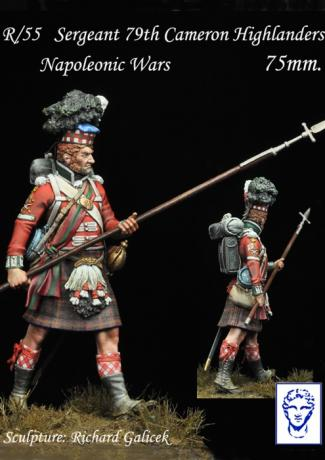 R/55 Sargeant 79th Cameron Highlanders, Napoleonic Wars