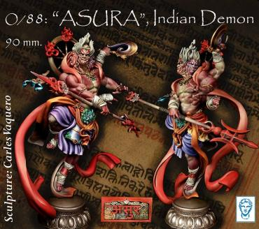 O/88: ASURA, Indian Demon.