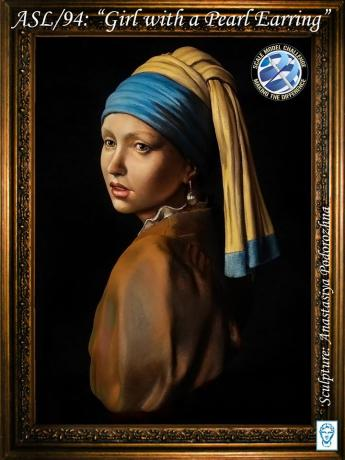 ASL/94: Girl with a pearl earring