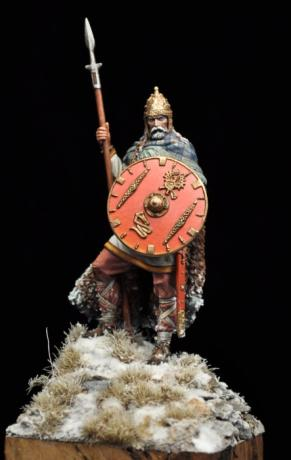 DAM/43 FRANKISH WARRIOR, V-VI Century a.D.
